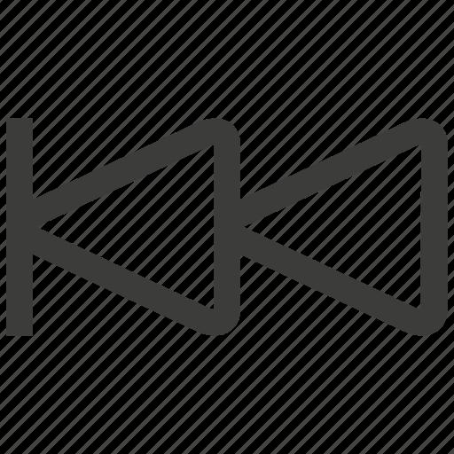backward, music, rewind icon