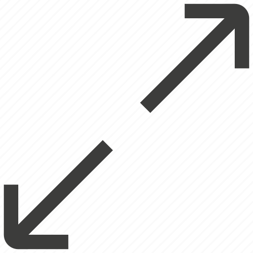 enlarge, expand, fullscreen icon