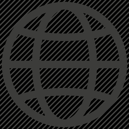 globe, internet, network, world icon
