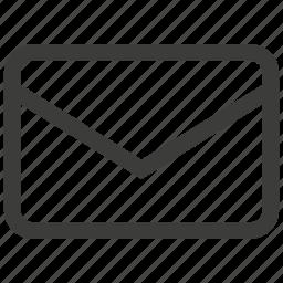 envelope, inbox, mail icon