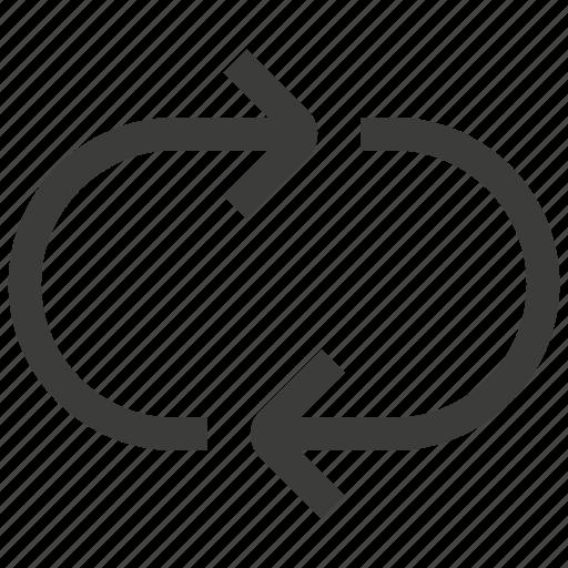 loop, reload, repeat, replay icon