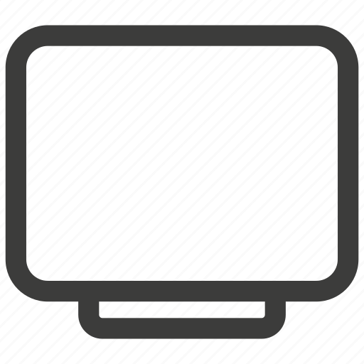 display, monitor, screen icon