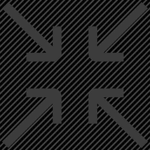 Shrink, compress, reduce icon - Download on Iconfinder