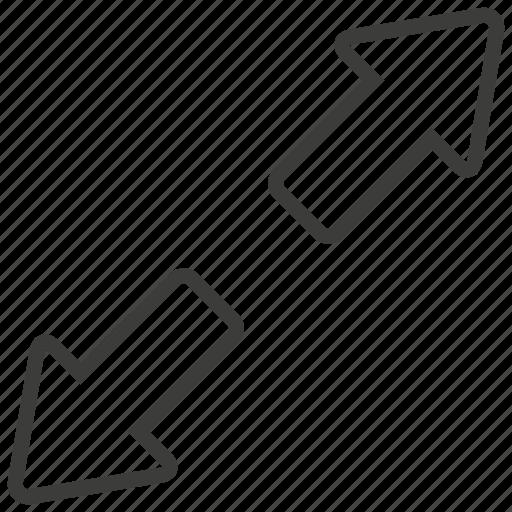arrows, expand, full, maximize icon
