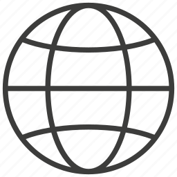 globe, network, social, world icon