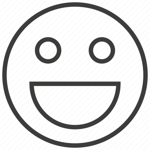 expression, face, happy, smile icon