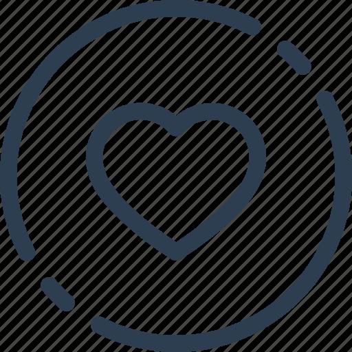 best, circle, favorite, heart, like, ui, web icon