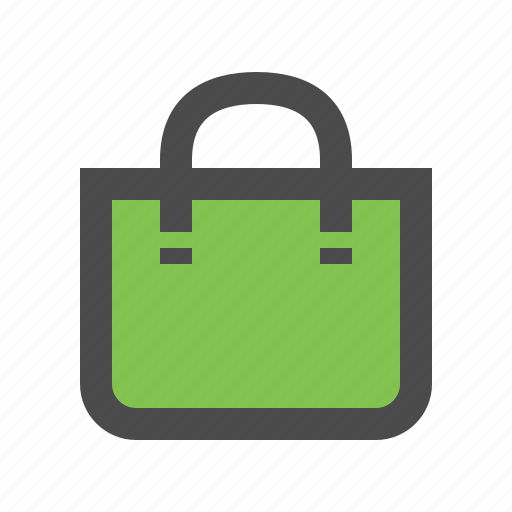 bag, buy, ecommerce, green, shop, shopping icon