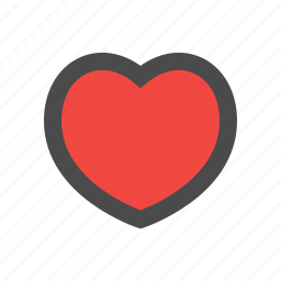 bookmark, favorite, good, heart, like, love, valentine icon