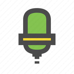 audio, mic, microphone, music, on, record, sound icon