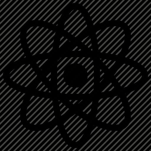 atom, atom model, atom nucleus, chemistry, structure icon