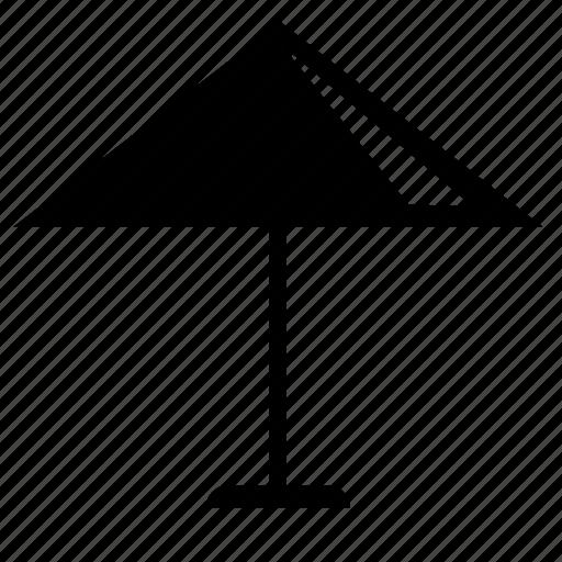 beach, brolly, sun, umbrella icon