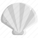 food, sea, shell icon
