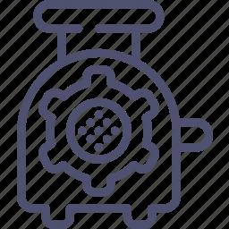 grinder, hasher, kitchen, meat, mincer icon