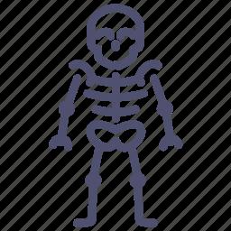 anatomy, bones, medical, medicine, skeleton, skull icon