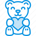 bear, love, present icon