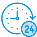clock, day and night, support icon
