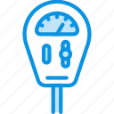 machine, meter, parking icon