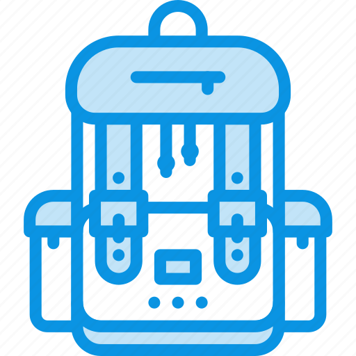 Backpack, bag, camping, hike, school, student icon - Download on Iconfinder