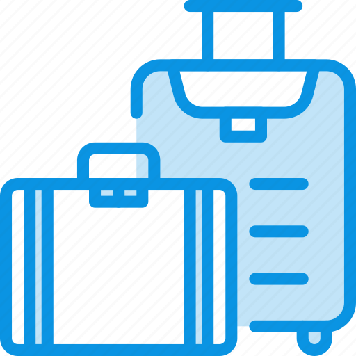 Bag, baggage, luggage, suitcase, travel icon - Download on Iconfinder