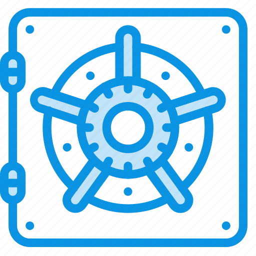 bank, safe, security icon