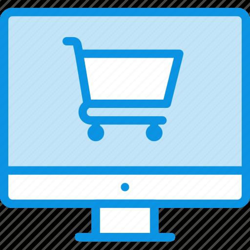 cart, device, online shop icon