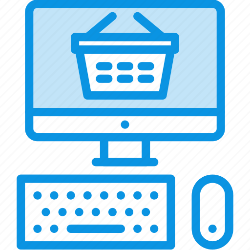 Ecommerce, shop, pc icon - Download on Iconfinder