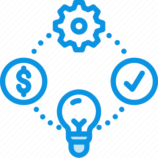 business, idea, process icon