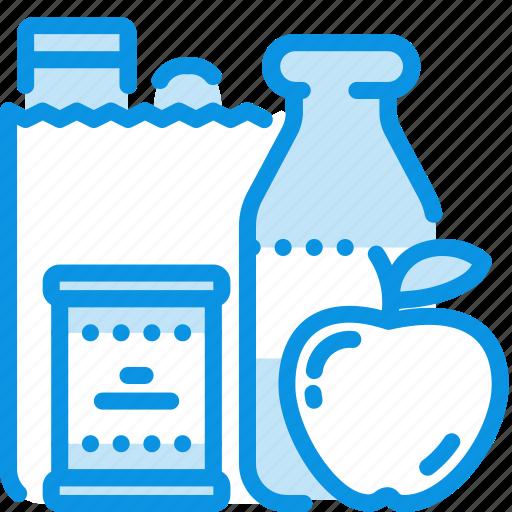bag, food, shopping icon