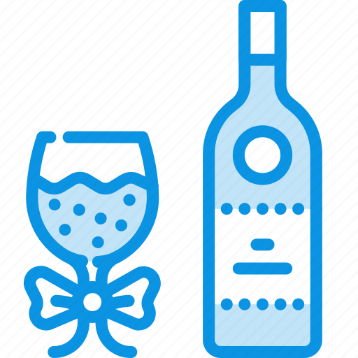 bottle, holiday, present icon