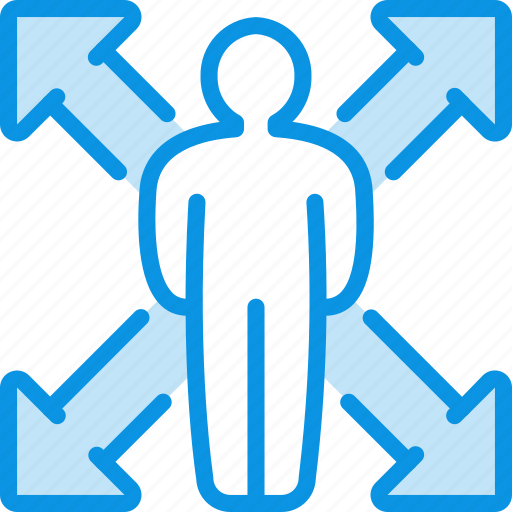 client, man, opportunity icon