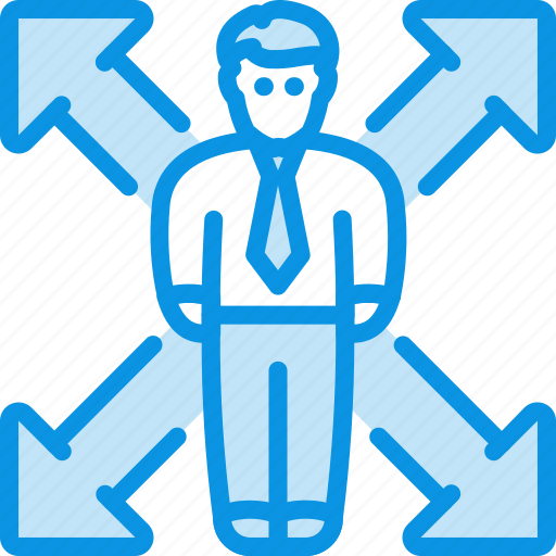 business, man, opportunity icon