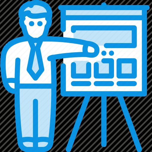 Man, presentation, business icon - Download on Iconfinder