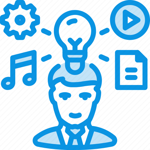Author, idea, person icon - Download on Iconfinder