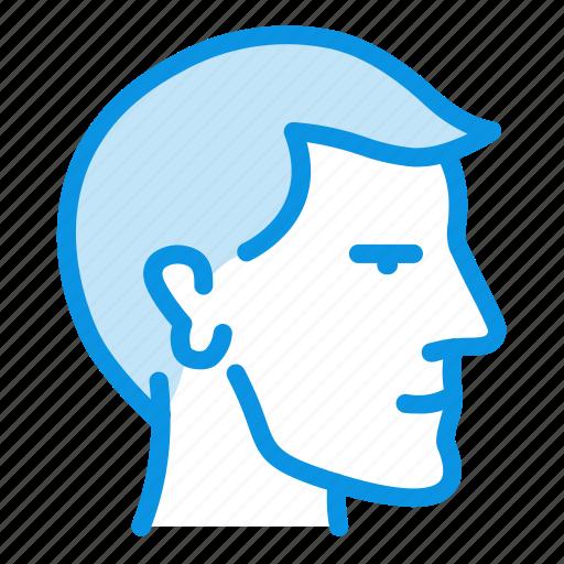face, head, man icon
