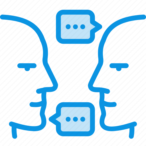 chat, communication, people icon