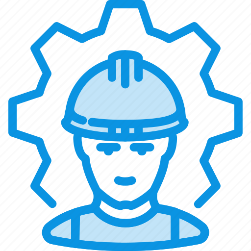 factory, process, worker icon
