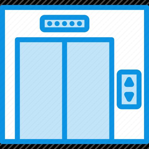interior, lift icon