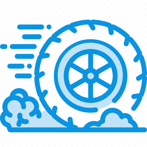 Friction, wheel, motion icon - Download on Iconfinder