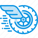 race, wheel, wing icon