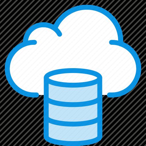 Backup, hosting, cloud icon