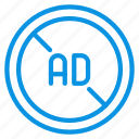 ad, blocker icon