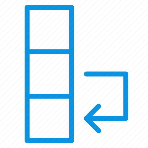 column, data, swap icon