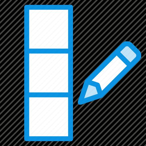 Column, data, edit icon - Download on Iconfinder