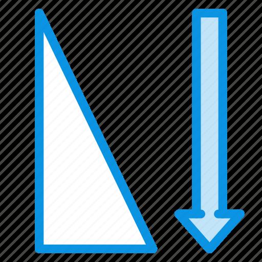 ascending, sort, sorting icon