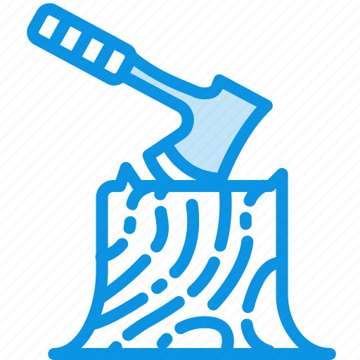 Axe, camping, log icon - Download on Iconfinder