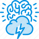 brain storm, creative, idea icon