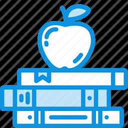 apple, books, education icon