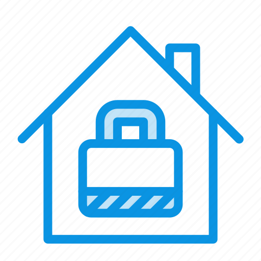 house, protected, security icon