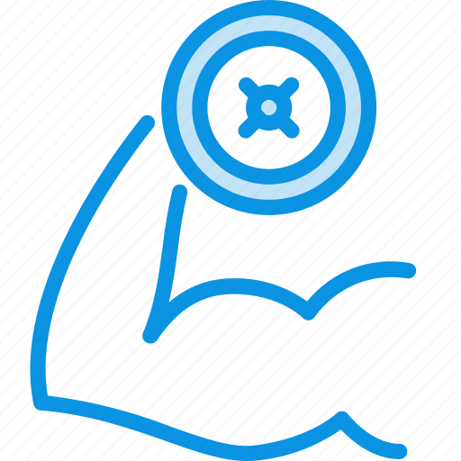 Fitness, gym, hand icon - Download on Iconfinder